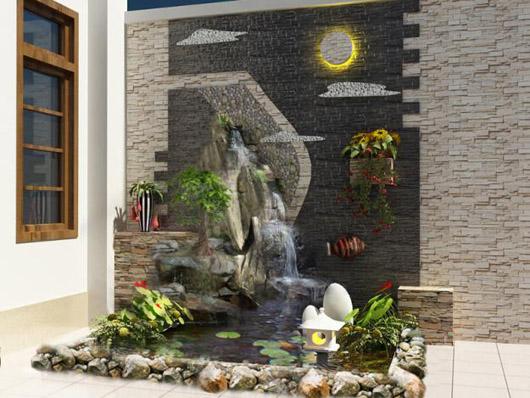 Tranh đá ốp tường nội thất