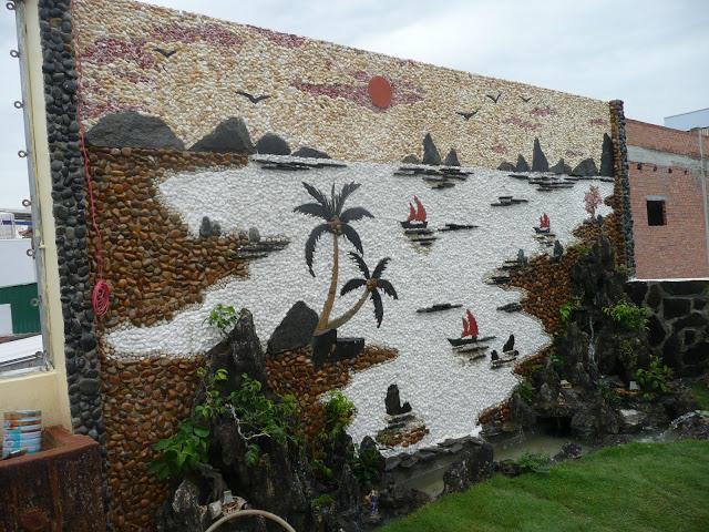 Tranh đá ốp tường đẹp nhất