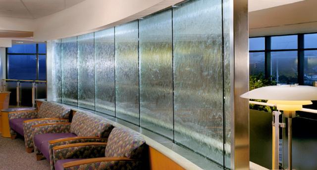 Tường nước kính