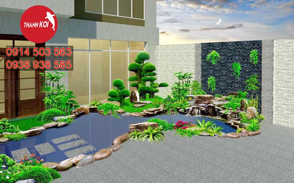 thiết kế hồ cá koi nhật bản tỉnh Bà Rịa Vũng Tàu