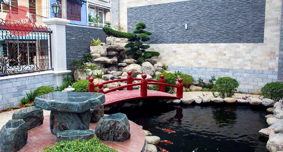 Thiết kế hồ cá Koi Nhật Bản quận 5, thiet ke ho ca Koi Nhat Ban quan 5