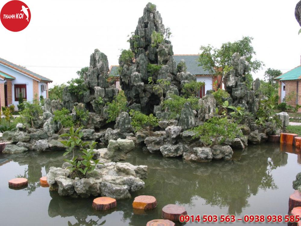 Thiết kế và thi công hòn non bộ huyện Bình Chánh, thiet ke va thi cong hon non bo huyen Binh Chanh