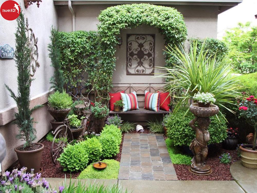 Chiêm ngưỡng những mẫu thiết kế sân vườn lãng mạn đẹp mê hồn