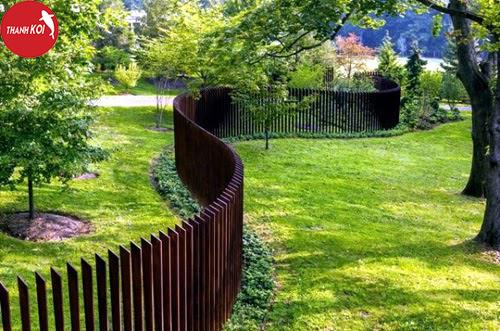 Mãn nhãn ngắm 12 kiểu thiết kế sân vườn đẹp