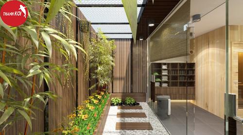 Top 6 xu hướng thiết kế sân vườn hiện đại