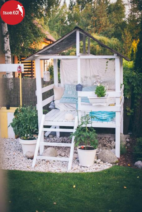 20 ý tưởng thiết kế sân vườn đơn giản mà đẹp