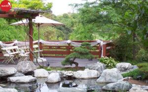 Thiết kế sân vườn phong cách đồng quê cho biệt thự
