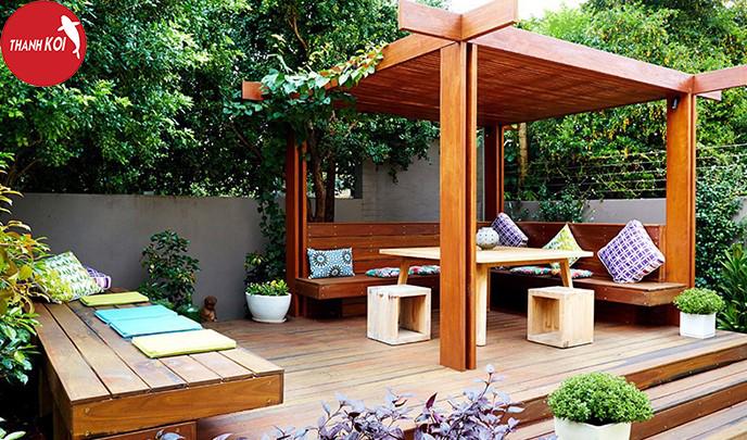 Top 10 mẫu thiết kế sân vườn đẹp